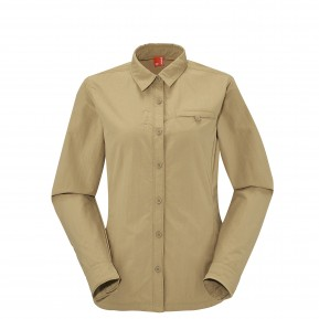 EXPLORER SHIRT Antique bronze Lafuma