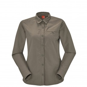 EXPLORER SHIRT Major brown Lafuma