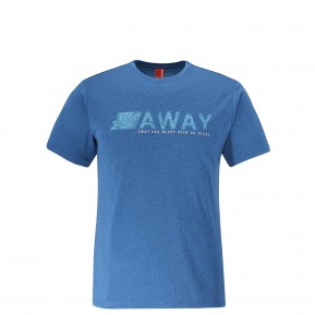 SHIFT TEE Egean blue Lafuma