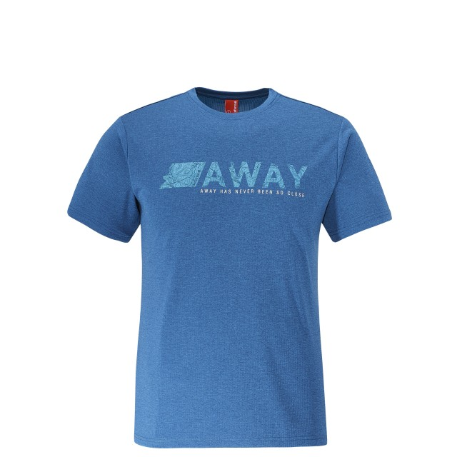 SHIFT TEE Bleu Lafuma