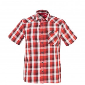 Chemise urbaine Homme CHECK SHS Rouge Lafuma