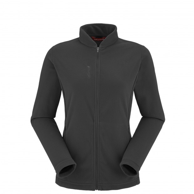 RIB FLEECE F-ZIP Noir Lafuma