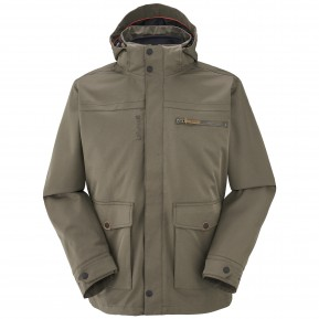 HIGHLAND 3IN1 FLEECE JACKET Brown Lafuma