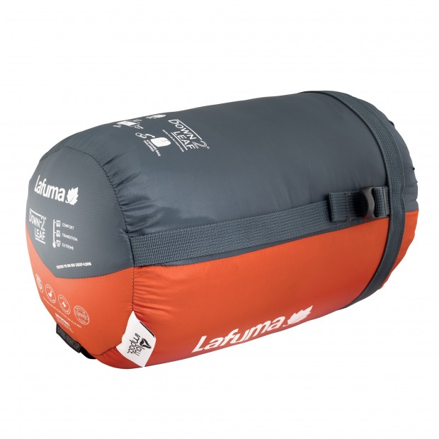 Sac de couchage - confort 4° DOWNLEAF -2° ORANGE Lafuma 3