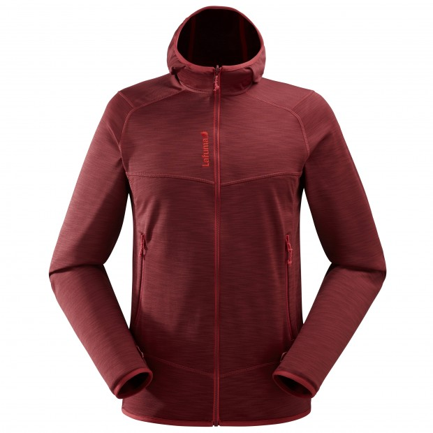 Polaire mix and match - homme SHIFT HOODIE Rouge Lafuma