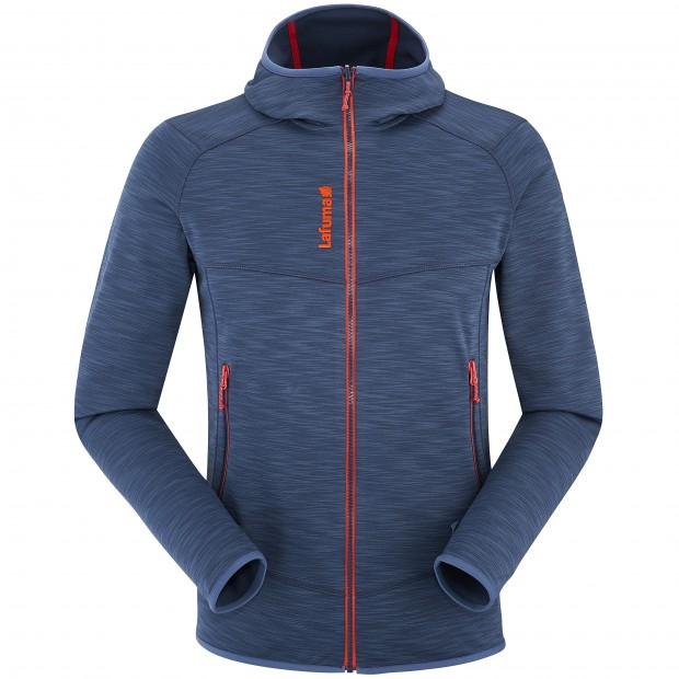 Polaire mix and match - homme SHIFT HOODIE Bleu Lafuma