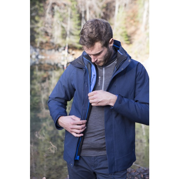 Veste mix and match - homme TRACK 3in1 LOFT JKT M Marine Lafuma 2