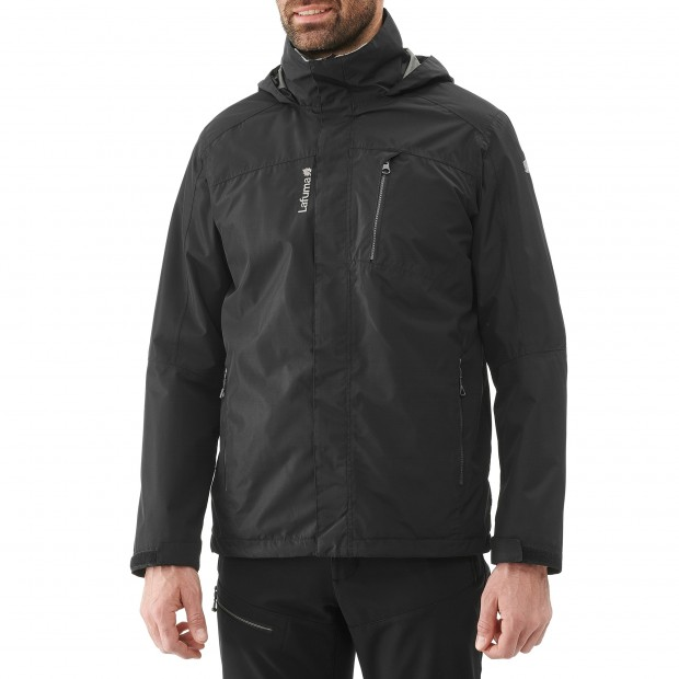 Veste mix and match - homme ACCESS 3in1 FLEECE JKT Noir Lafuma 4