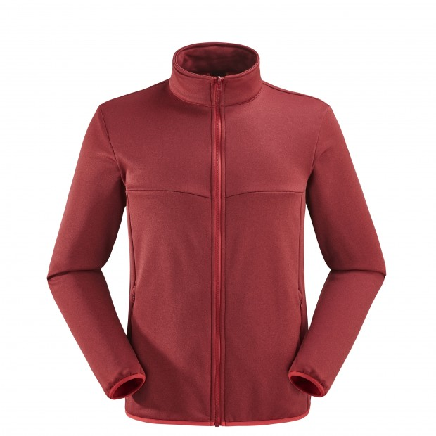 Polaire mix&match - Homme ACCESS F-ZIP Rouge Lafuma