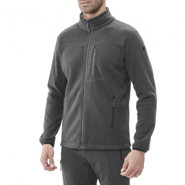 Polaire épaisse - homme TECHFLEECE F-ZIP M Marron Lafuma 2