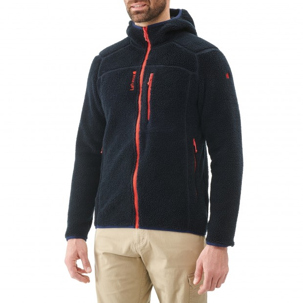 Polaire mix and match - homme DERRY HOODIE M Marine Lafuma 2