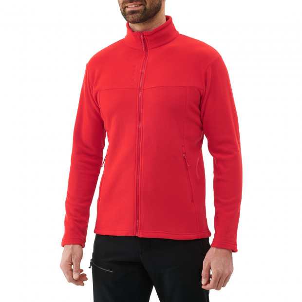 Micro polaire - homme ACCESS MICRO F-ZIP M Rouge Lafuma 2
