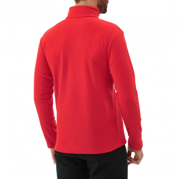 Micro polaire - homme ACCESS MICRO F-ZIP M Rouge Lafuma 3