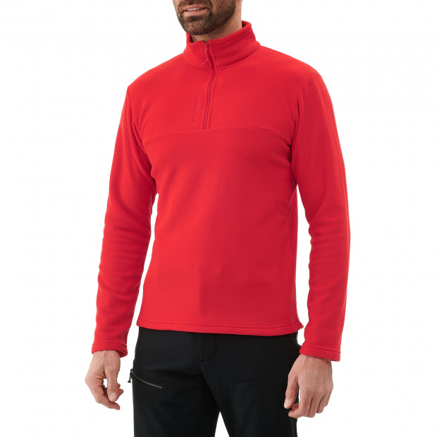 Micro polaire - homme ACCESS MICRO T-ZIP M Rouge Lafuma 2