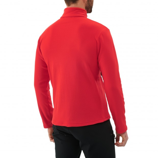 Micro polaire - homme ACCESS MICRO T-ZIP M Rouge Lafuma 3