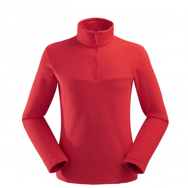 Micro polaire - homme ACCESS MICRO T-ZIP M Rouge Lafuma