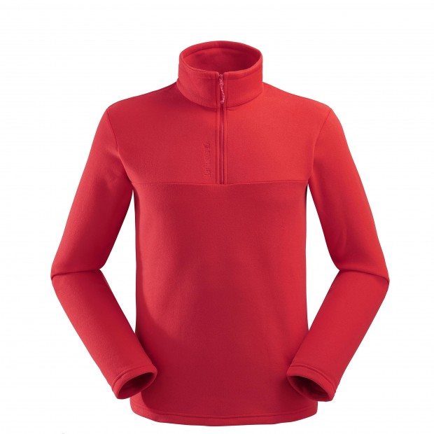 Micro polaire - Homme ACCESS MICRO T-ZIP Rouge Lafuma
