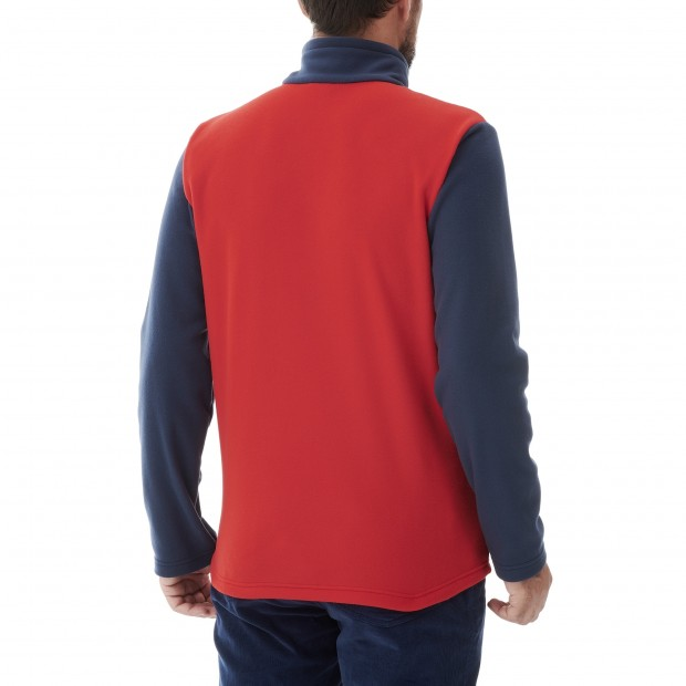 Micro-polaire - Homme - ROUGE ACCESS MICRO T-ZIP M Lafuma 3