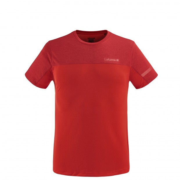 Tee-Shirt Manches courtes Homme SKIM TEE M ROUGE Lafuma