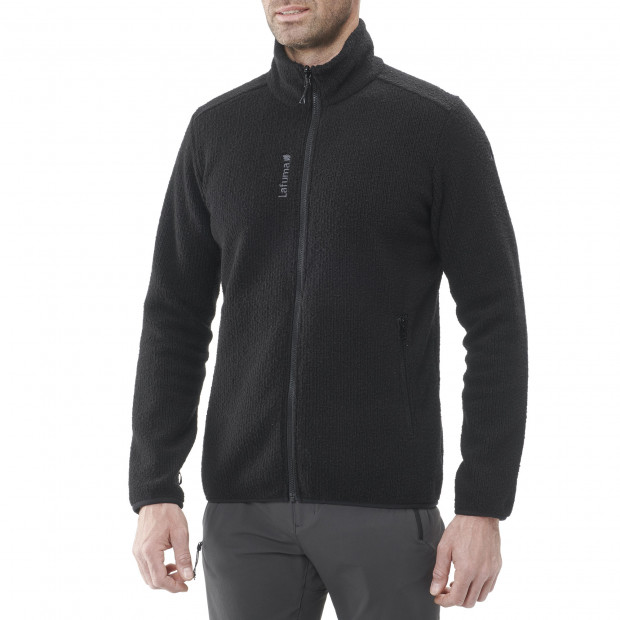 Polaire mix and match - homme STATEN F-ZIP M Noir Lafuma 2