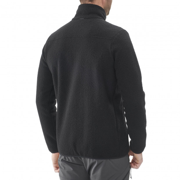 Polaire mix and match - homme STATEN F-ZIP M Noir Lafuma 3