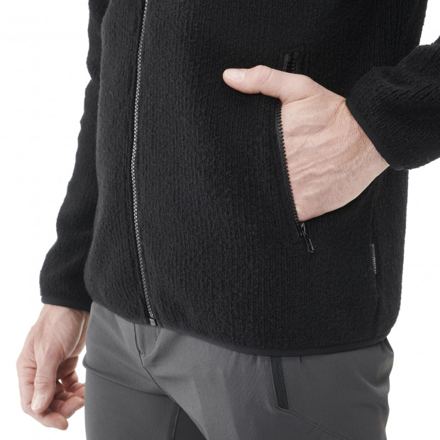 Polaire mix and match - homme STATEN F-ZIP M Noir Lafuma 4