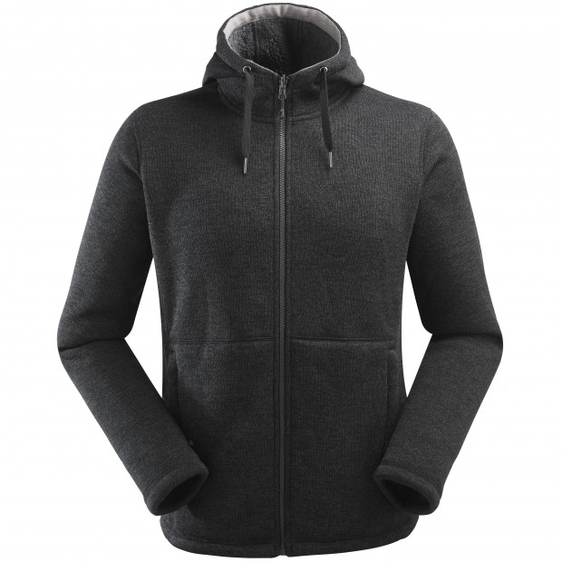 Sweat polaire mix and match - homme CALI HOODIE M Noir Lafuma