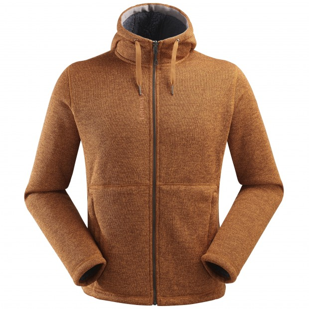 Sweat polaire mix and match - homme CALI HOODIE M Camel Lafuma