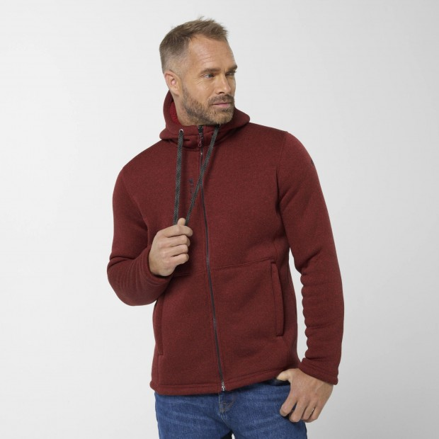 Polaire - Homme - ROUGE CALI HOODIE M Lafuma 2