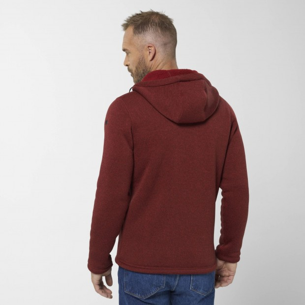 Polaire - Homme - ROUGE CALI HOODIE M Lafuma 3