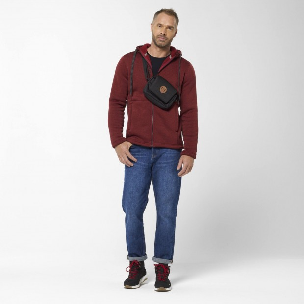 Polaire - Homme - ROUGE CALI HOODIE M Lafuma 6