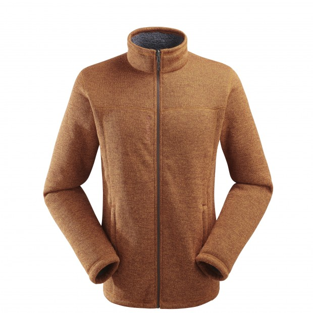 Sweat polaire mix and match - homme Cali F-Zip M Leather Brown Lafuma