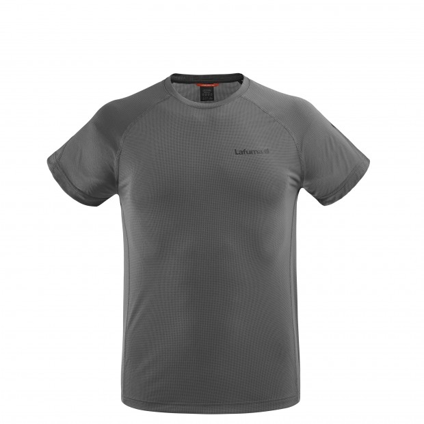 Tee-Shirt Manches courtes Homme WAY TEE M GRIS Lafuma