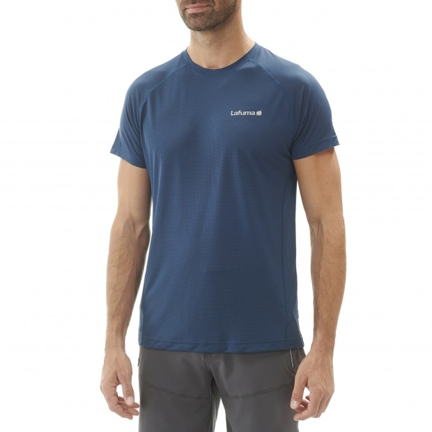 Tee-Shirt Manches courtes Homme WAY TEE M GRIS Lafuma 2