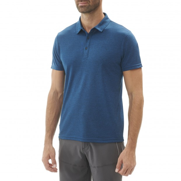 Tee-Shirt léger - Homme SHIFT POLO Gris Lafuma 3