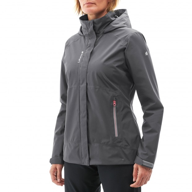 Veste gore-tex - femme WAY GTX ZIP-IN JKT W Rose Lafuma 2