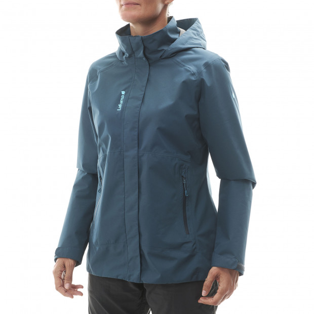 Veste gore-tex - femme WAY GTX ZIP-IN JKT W Bleu Lafuma 2