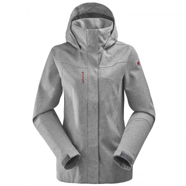 Veste mix and match - femme LD TRACK ZIP-IN JKT Gris Lafuma