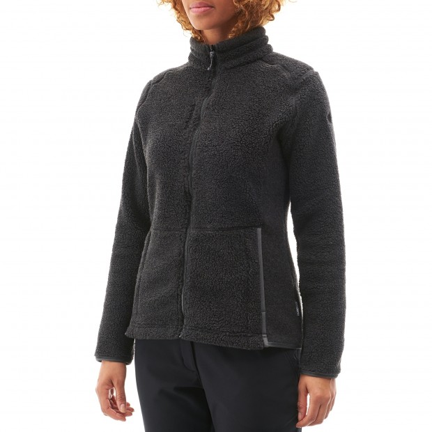 Polaire mix and match - femme LD DERRY F-ZIP Rouge Lafuma 2