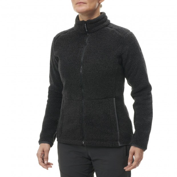 Polaire mix and match - femme LD DERRY F-ZIP Noir Lafuma 2