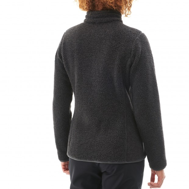 Polaire mix and match - femme LD DERRY F-ZIP Rouge Lafuma 3