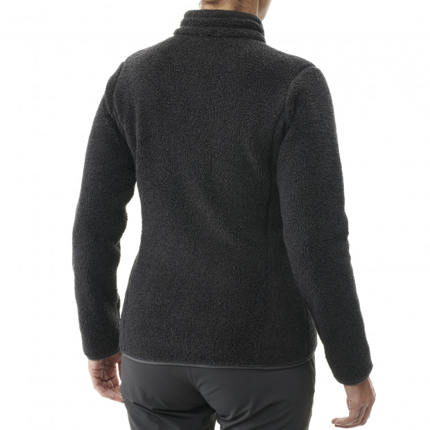 Polaire mix and match - femme LD DERRY F-ZIP Noir Lafuma 3