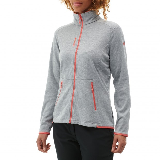 Polaire mix and match - femme LD SHIFT F-ZIP Rouge Lafuma 3