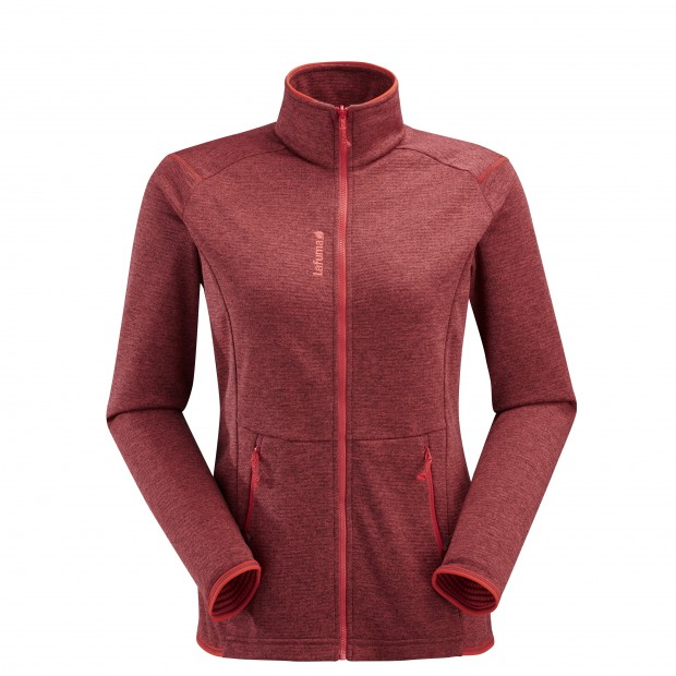 Polaire mix and match - femme LD SHIFT F-ZIP Rouge Lafuma
