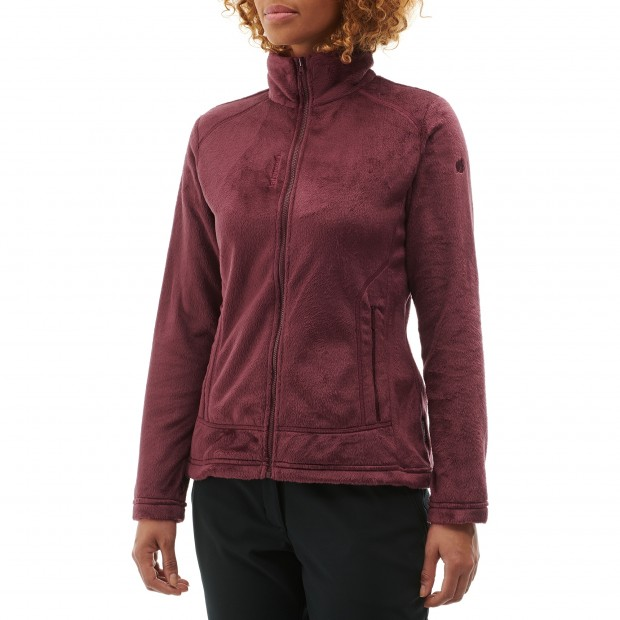 Polaire mix and match - femme LD ALPIC F-ZIP Rouge Lafuma 2