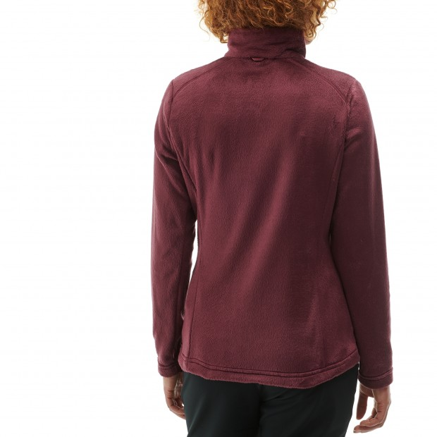Polaire mix and match - femme LD ALPIC F-ZIP Rouge Lafuma 3