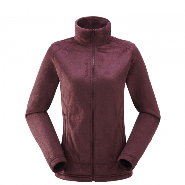 Polaire mix and match - femme LD ALPIC F-ZIP Rouge Lafuma