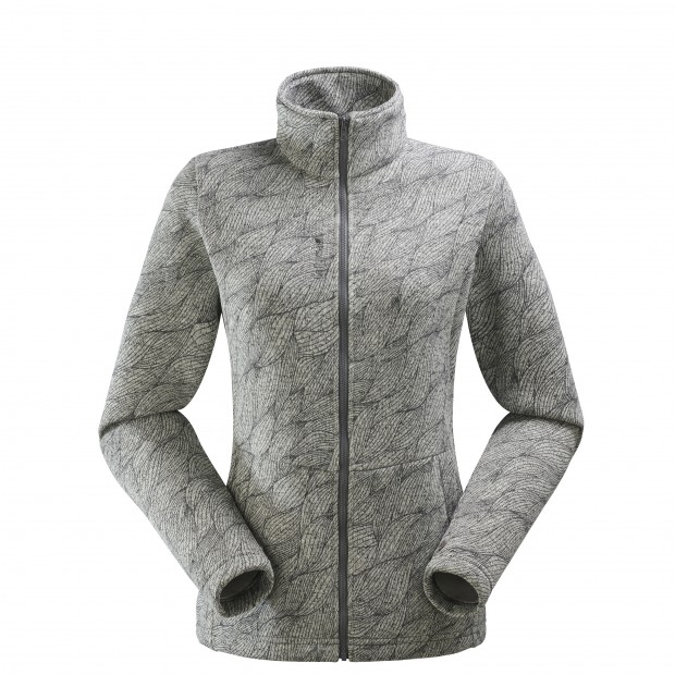 Polaire mix and match - femme LD MERRY F-ZIP Blanc Lafuma