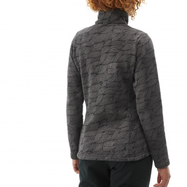 Polaire mix and match - femme LD MERRY F-ZIP Gris Lafuma 3