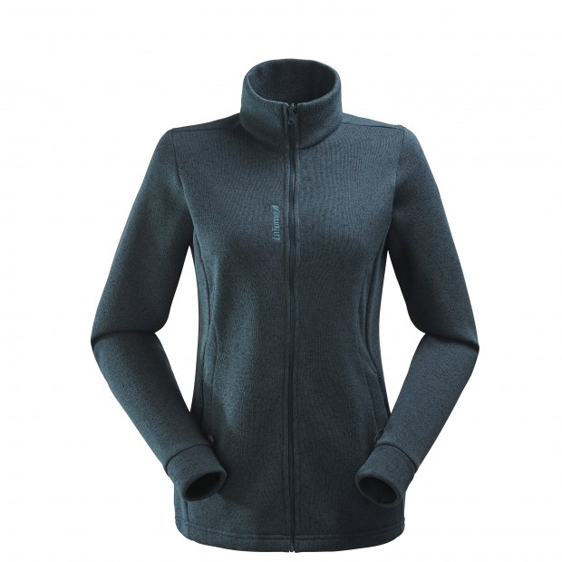 Polaire mix and match - femme LD CLOUDY F-ZIP Gris Lafuma